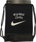Nike Cinch Sack with Zipper - Black