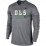 **Marching Band Grey Long Sleeve Dri-Fit T-Shirt - Special Order