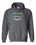 ***NCS Baseball - Charcoal - Hoodie - Special Order - place by June 22nd