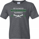 ***NCS Baseball - Charcoal - T-Shirt - Special Order - place by June 22nd