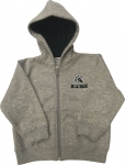 Infant Full-Zip Hoodie - Grey/Green