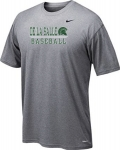 *Baseball Charcoal Grey Dri-Fit Short Sleeve T-Shirt***Special Order Only***(Order by Feb 27th)