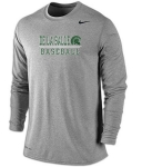 *Baseball Charcoal Grey Dri-Fit Long Sleeve T-Shirt***Special Order Only***(Order by Feb 27th)