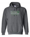 *Baseball Charcoal Grey Hoodie***Special Order Only ***(Order by Feb 27th)