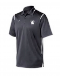 *Baseball Men's Charcoal Grey Dri-Fit Polo***Special Order Only ***(Order by Feb 27th)
