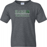 *Baseball Charcoal Grey COTTON T-Shirt***Special Order Only***(Order by Feb 27th)