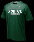 *Marching Band Nike Green Short Sleeve Dri-Fit T-Shirt**Special Order**(Order by Nov 16th)