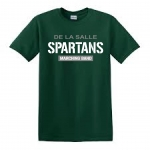 *Marching Band Green COTTON T-Shirt**Special Order**(Order by Nov 16th)