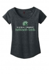 Marching Band - Women's Charcoal Grey Scoop-Neck T-Shirt**Special Order**