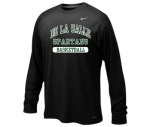 *Basketball Nike Black Long Sleeve Dri-Fit T-Shirt**Special Order**