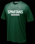 *Basketball Nike Green Short Sleeve Dri-Fit T-Shirt - Special Order