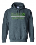Basketball Charcoal Grey Hoodie ***Special Order Only***(Order by Nov 28th)