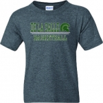 Basketball Charcoal Grey COTTON T-Shirt***Special Order Only***(Order by  Nov 28th)
