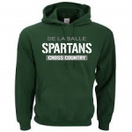 Cross Country - Green Hoodie**Special Order**(Order by Sept 21st, to receive on Oct 1st)