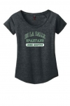 Cross Country - Women's Grey Scoop Neck T-Shirt**Special Order**