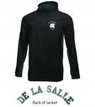 *Company Black Quarter Zip Jacket**Special Order**