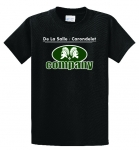 *Company Black Short Sleeve COTTON T-Shirt**Special Order**(Order by Nov 16th)