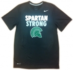Nike Dri-Fit SPARTAN STRONG Short Sleeve T-Shirt - Black
