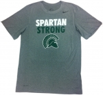 Nike Dri-Fit SPARTAN STRONG Short Sleeve T-Shirt - Grey