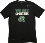 *We Are Spartans T-Shirt - Black