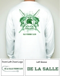 Fishing Club Long Sleeve White T-Shirt
