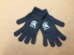 Women's Knit Gloves - Grey