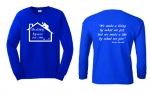 Healing Spaces Long Sleeve T-Shirt***Special Order***