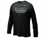 *Ice Hockey Charcoal Grey Short Sleeve Dri-Fit T-Shirt***Special Order Only***(Order by Feb 27th)