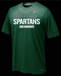 *Ice Hockey Nike Green Short Sleeve Dri-Fit T-Shirt**Special Order**(Order by Nov 16th)