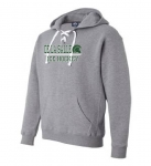 *Ice Hockey Grey Drawstring Hoodie**Special Order**