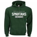 *Ice Hockey Green Hoodie**Special Order**(Order by Nov 16th)