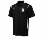 *Ice Hockey Black Dri-Fit Polo Shirt**Special Order**