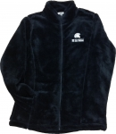 Women's Monkey Fleece Jacket - Black