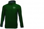 *Quarter Zip Hooded Windbreaker Jacket - Green