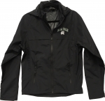 *Men's Waterproof Rain Jacket - Black