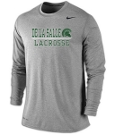 *Lacrosse Charcoal Grey Dri-Fit Long Sleeve T-Shirt***Special Order Only***Order by Feb 27th