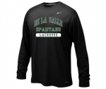 *Lacrosse Black Long Sleeve Dri-Fit T-Shirt**Special Order**