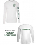 Leadership White Long-Sleeve T-Shirt**Special Order**