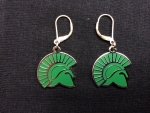 Spartan Head Earrings - Alloy