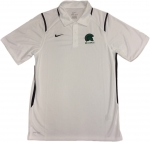 Men's Nike Gameday Dri-Fit Polo - White