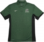 *Nike Victory Color Block Polo - Green/Grey