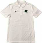 *Nike Team Dri-Fit Polo - White