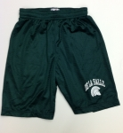 Youth Basic Mesh Shorts - Green