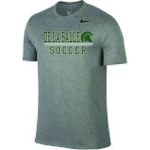Soccer Nike Charcoal Grey Short Sleeve Dri-Fit Shirt***Special Order Only***(Order by Nov 28th)