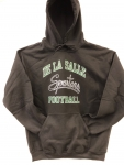 Football Hooded Sweatshirt - Black