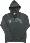 Women's Full-Zip Hoodie - Grey