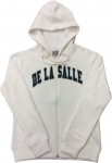 Women's Full-Zip Hoodie - White