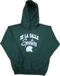 Youth Hooded Sweatshirt - Green