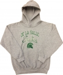 Youth Hooded Sweatshirt - Grey