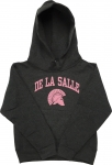 Youth Girl's Hooded Sweatshirt - Grey